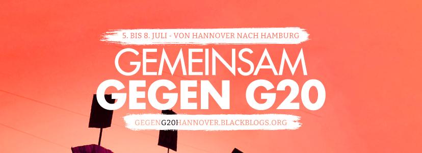 VIELE GUTE GRÜNDE GEGEN G20 Hannover